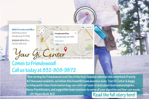 Your GI Center comes to Friendswood!