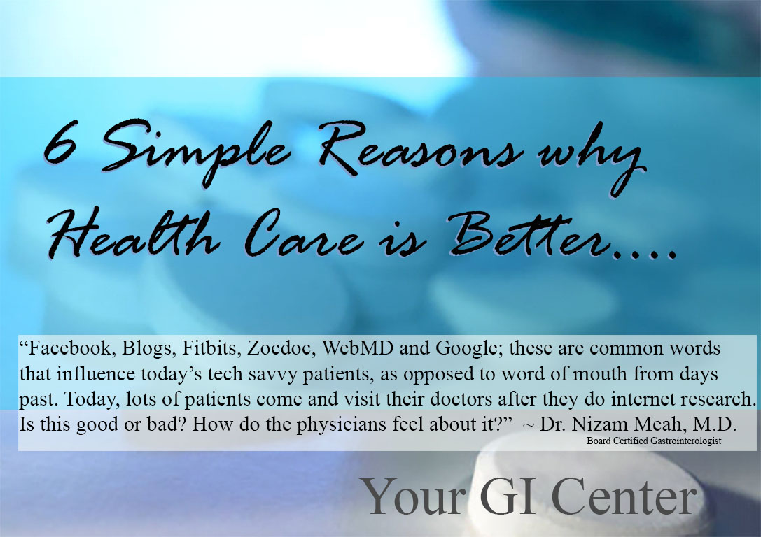 Six Simple Reasons Why I Feel Healthcare is Getting Better